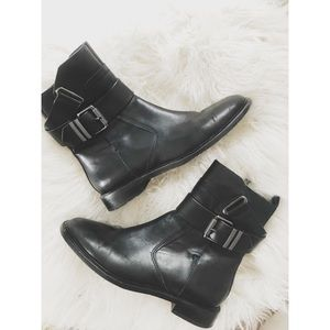 ASH leather Moto Boots